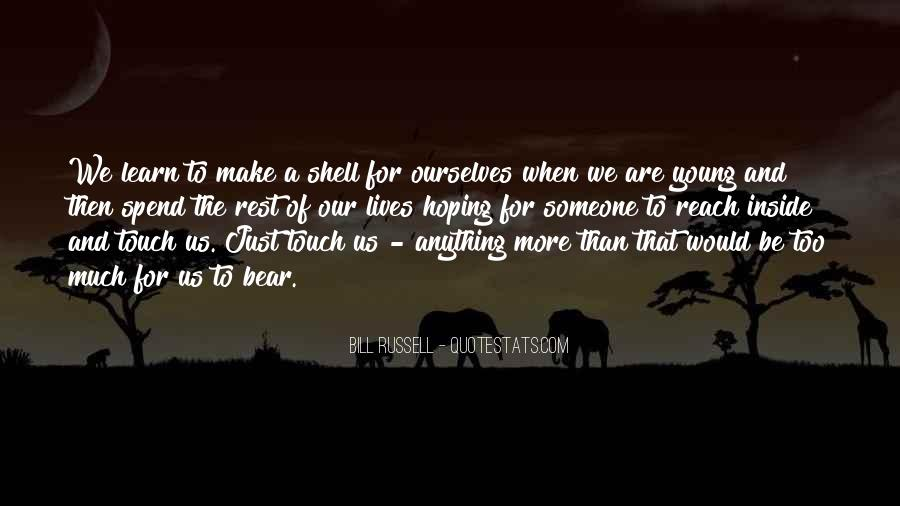 Quotes About We Are Young #50021