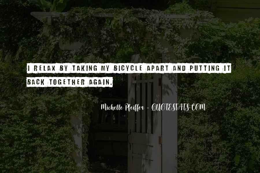 Quotes About Cycling #179618