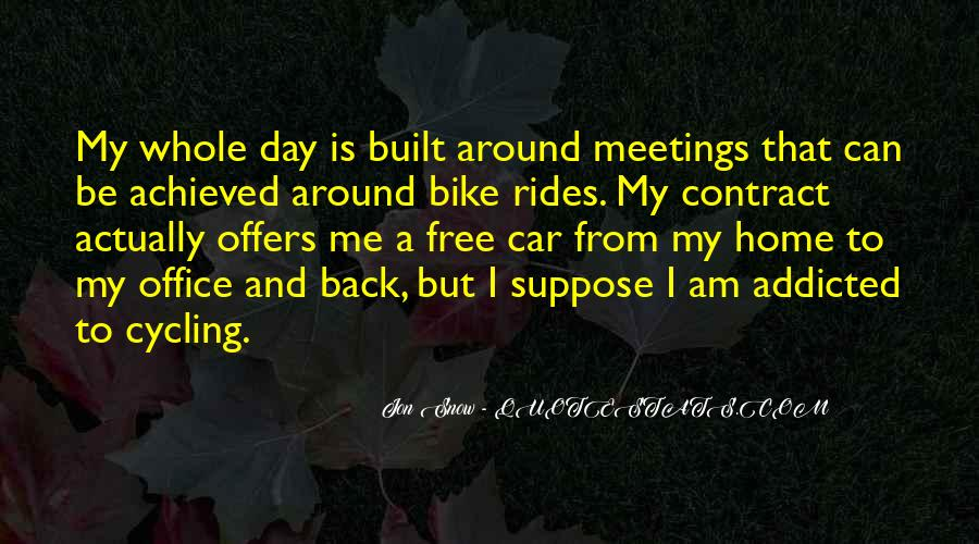Quotes About Cycling #426507