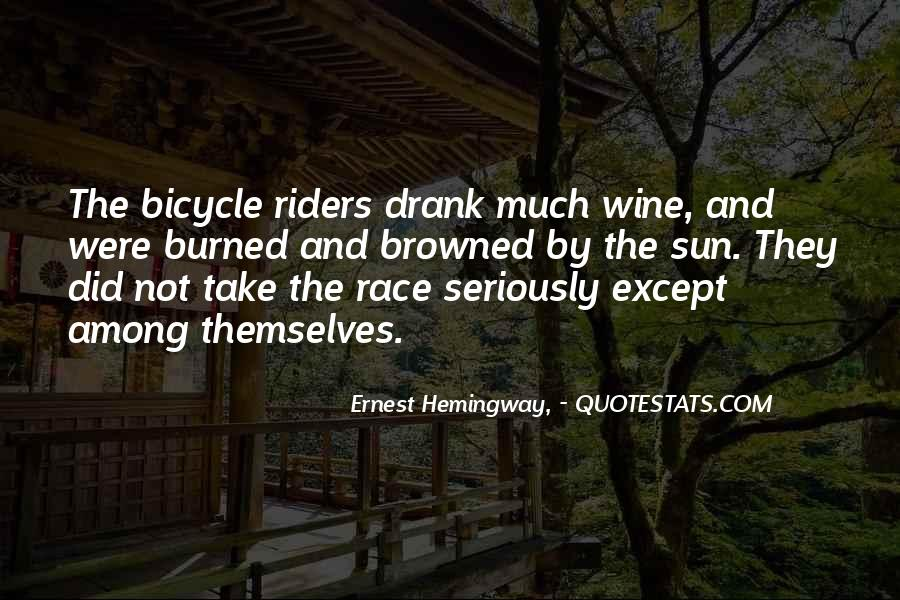 Quotes About Cycling #539560