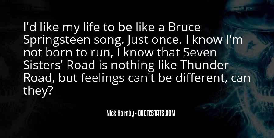 Quotes About Life Is Like A Road #1352535