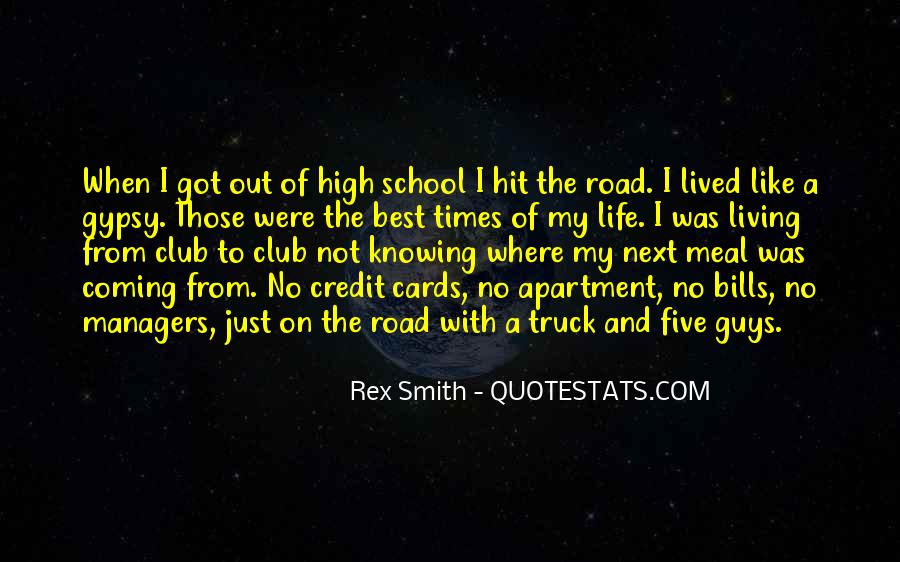 Quotes About Life Is Like A Road #158614