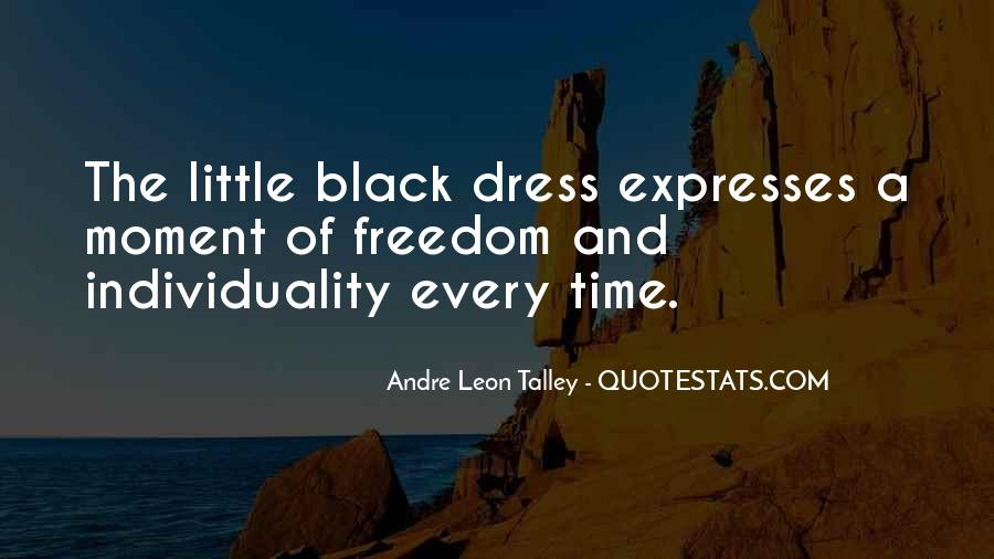 Quotes About The Black Dress #1371971