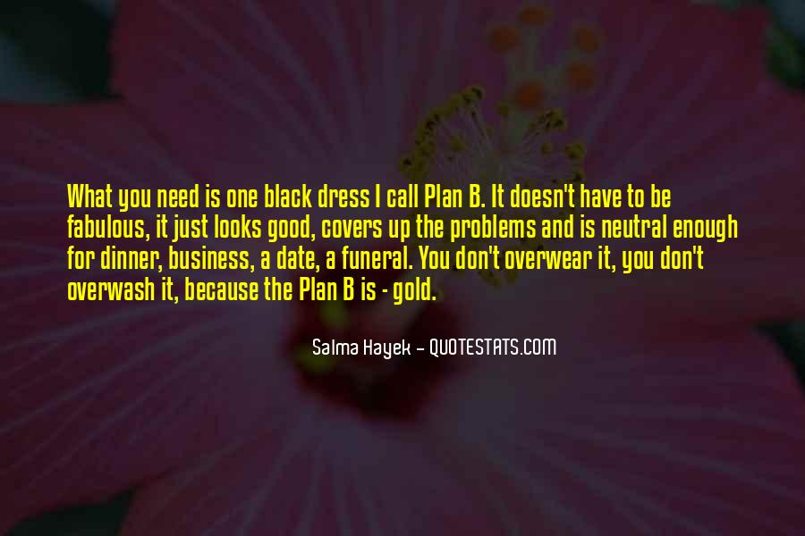 Quotes About The Black Dress #1715598