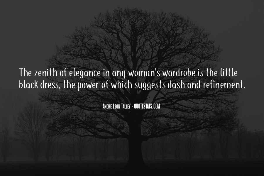Quotes About The Black Dress #1747845