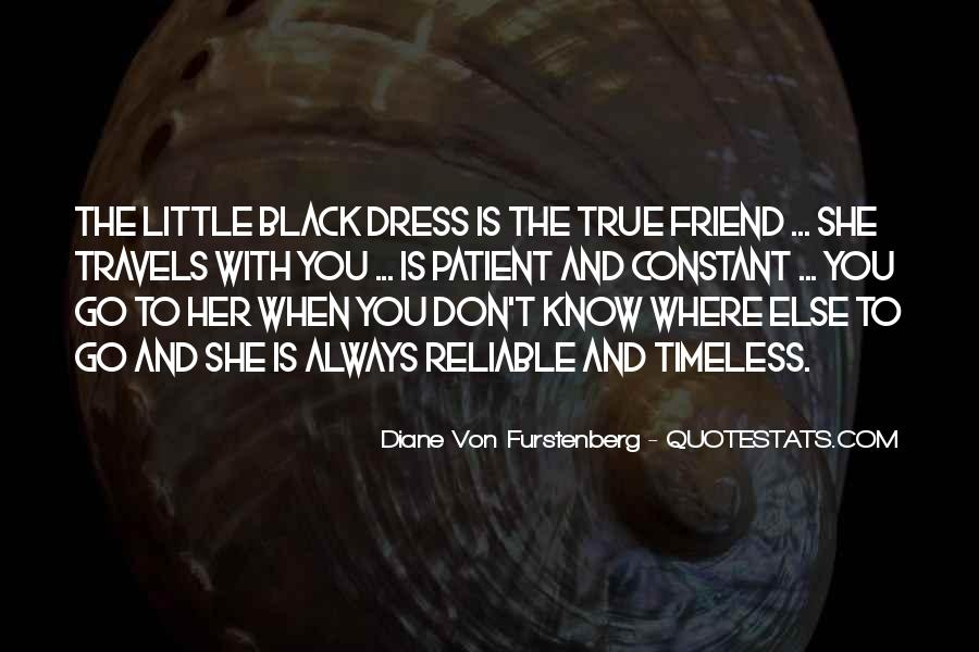 Quotes About The Black Dress #177937