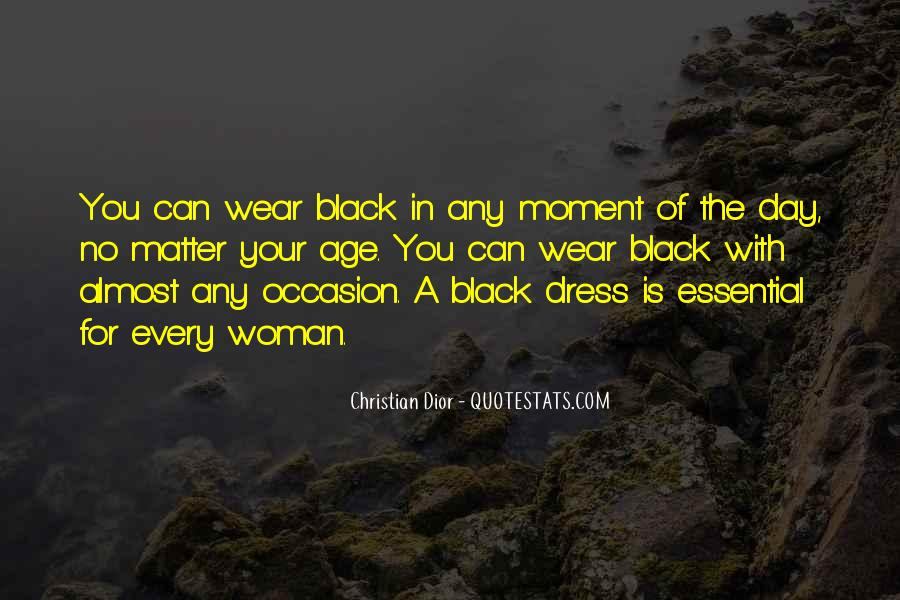Quotes About The Black Dress #337034