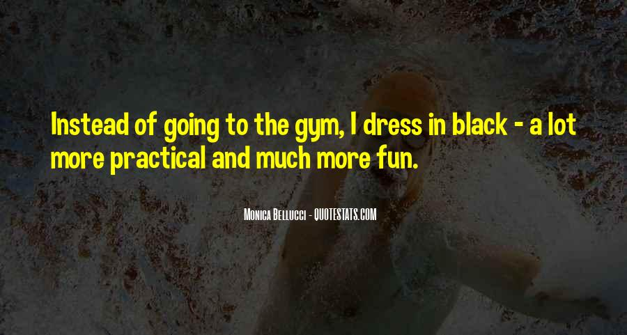 Quotes About The Black Dress #710444
