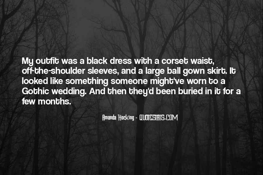 Quotes About The Black Dress #971769