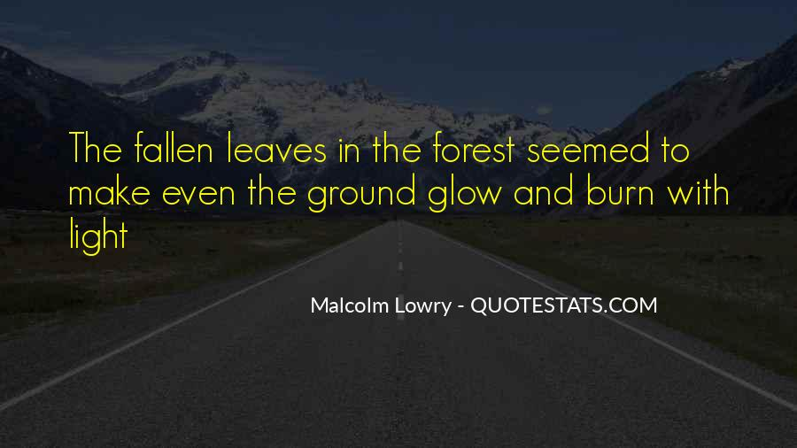 Quotes About Fallen Leaves #1082508