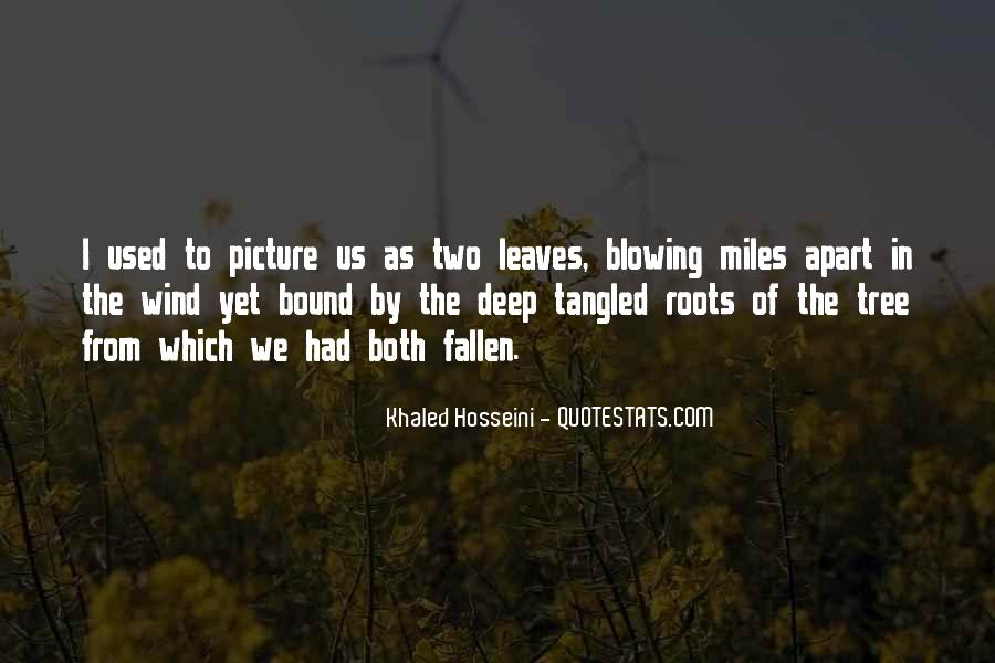 Quotes About Fallen Leaves #110395