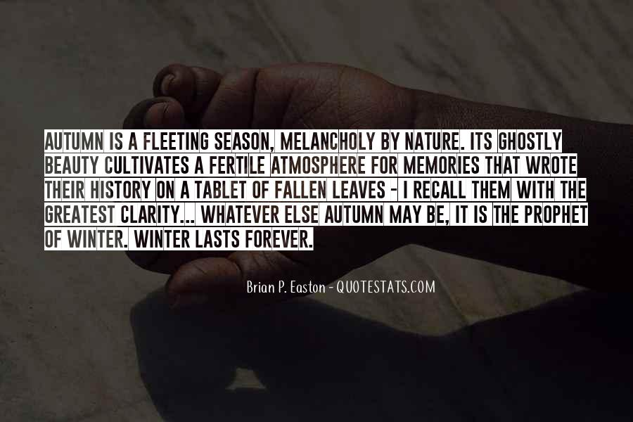 Quotes About Fallen Leaves #1142785