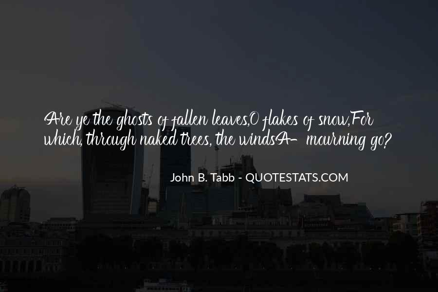 Quotes About Fallen Leaves #1482025