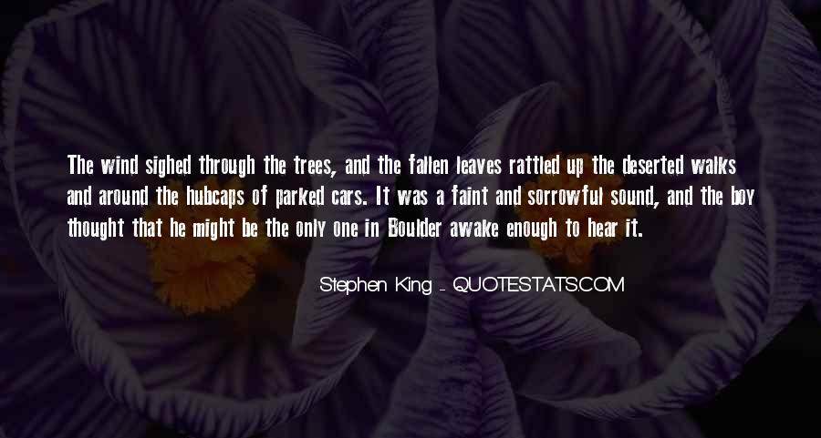 Quotes About Fallen Leaves #149943