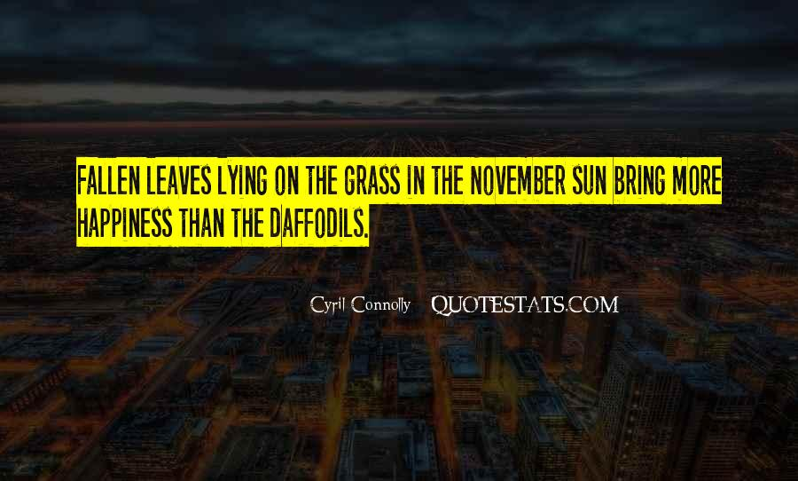 Quotes About Fallen Leaves #266784