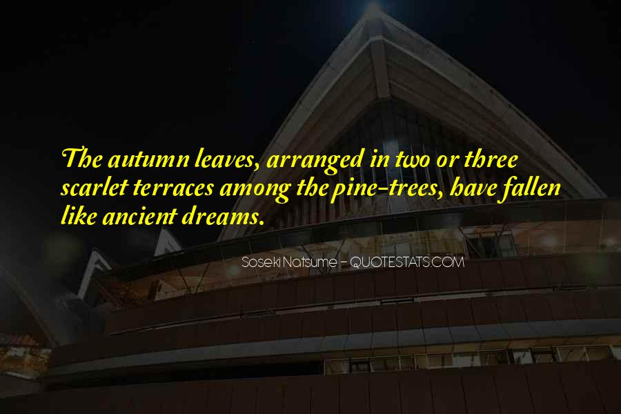 Quotes About Fallen Leaves #650922