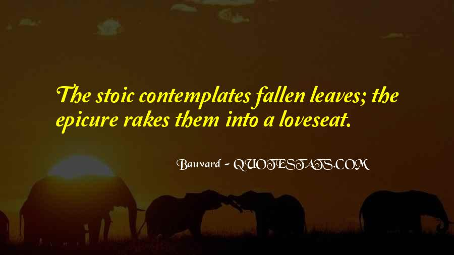 Quotes About Fallen Leaves #734062