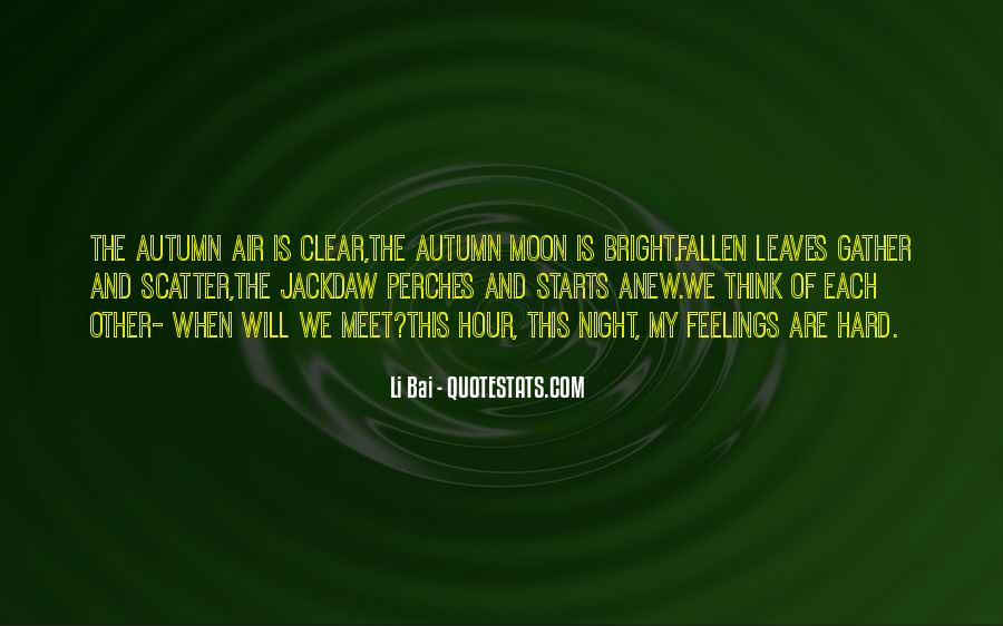 Quotes About Fallen Leaves #755946