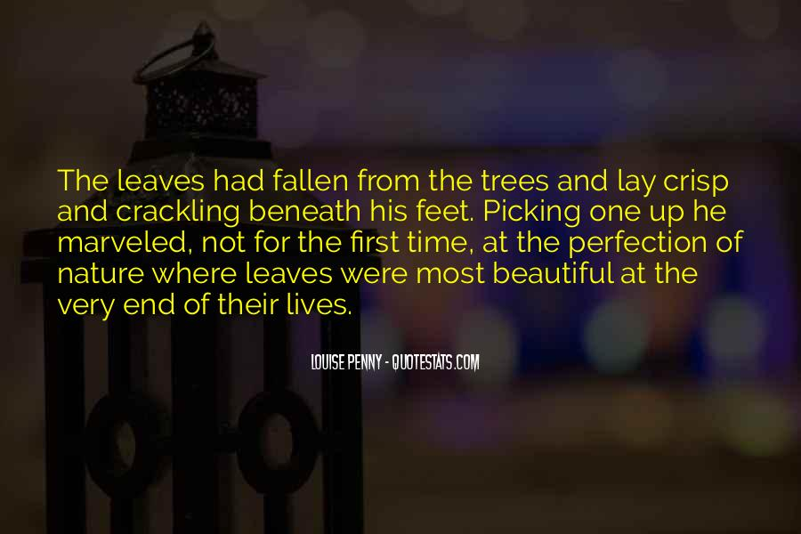 Quotes About Fallen Leaves #842324