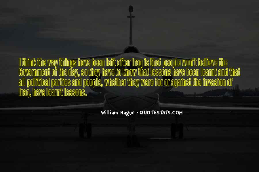 Quotes About The Hague #1441930