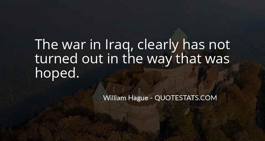 Quotes About The Hague #1451875