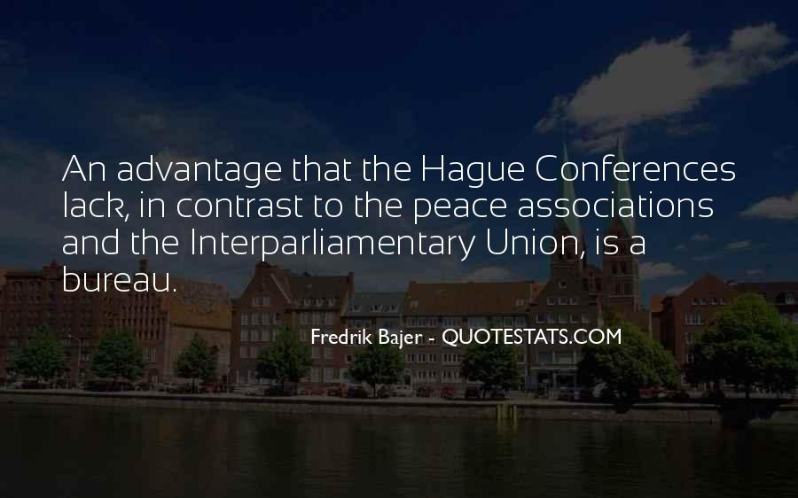 Quotes About The Hague #568399