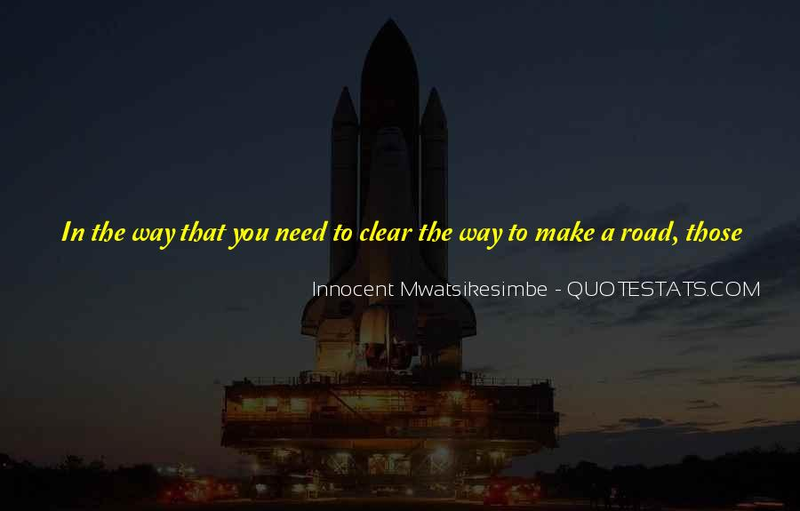 Quotes About Trust In The Road #1034287