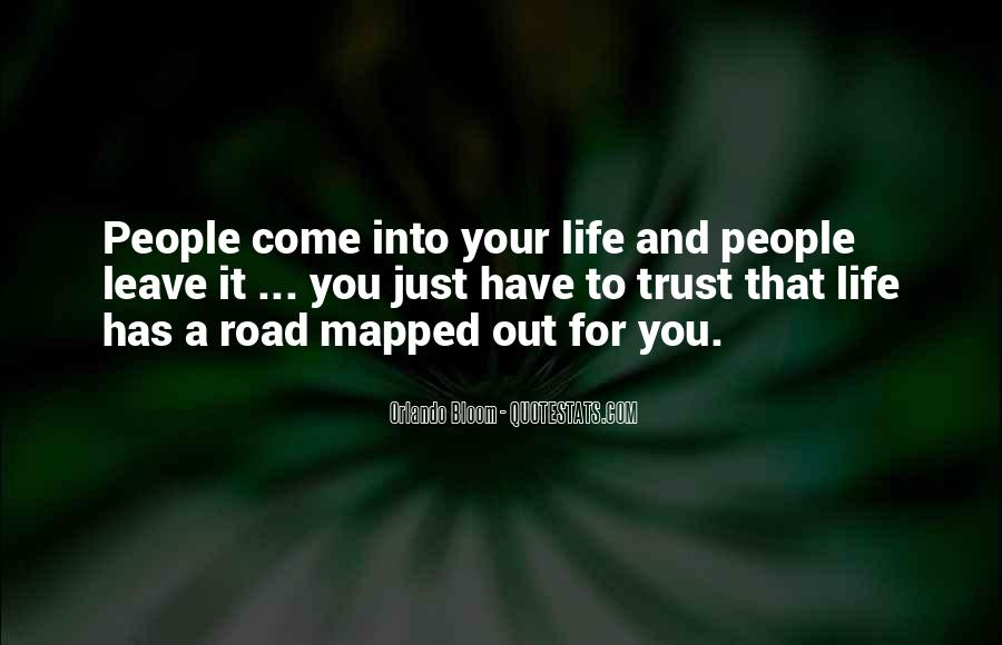Quotes About Trust In The Road #1090144