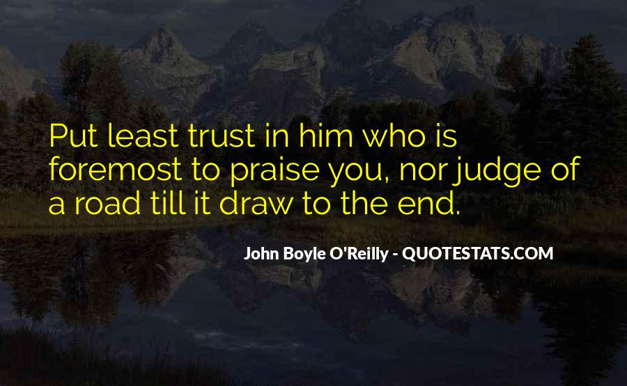 Quotes About Trust In The Road #156305