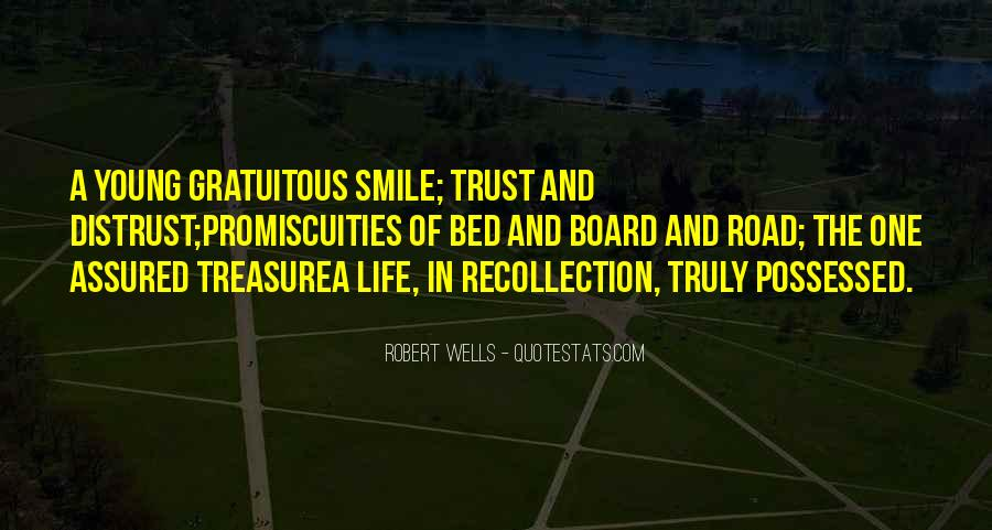 Quotes About Trust In The Road #486501