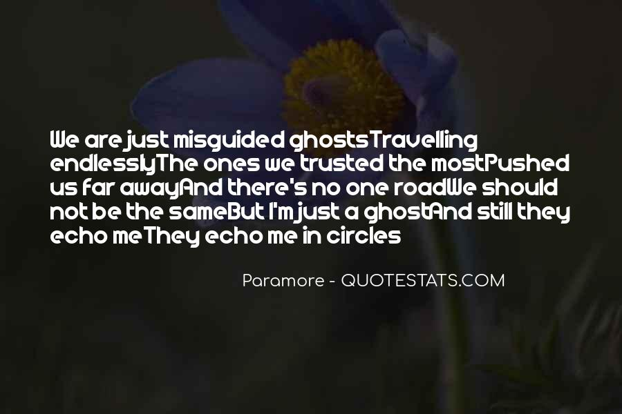 Quotes About Trust In The Road #500366