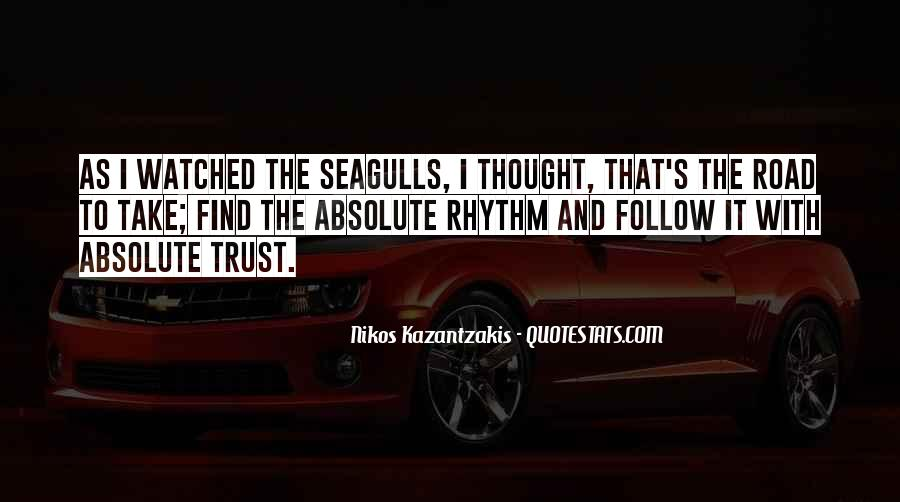Quotes About Trust In The Road #917304