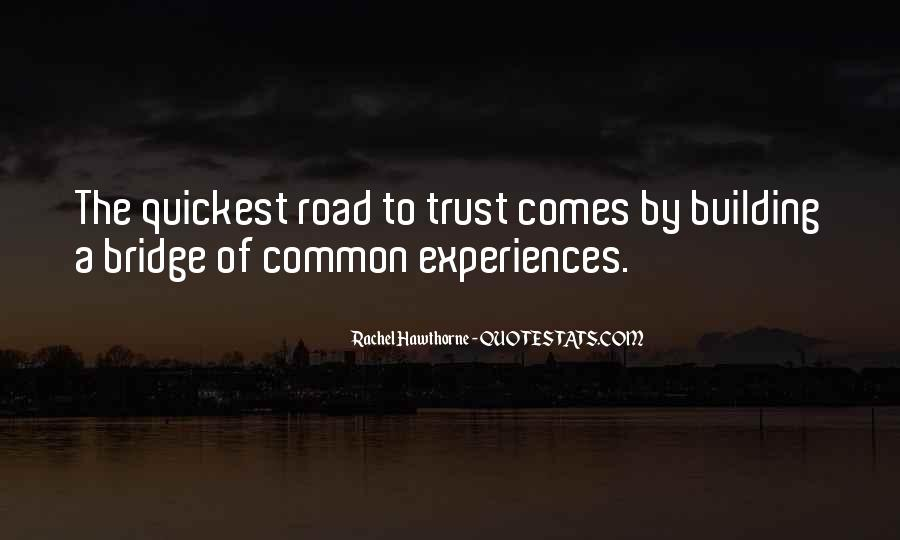 Quotes About Trust In The Road #935450