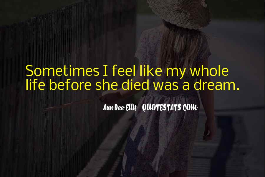 Quotes About Life Goes On After Death #65218