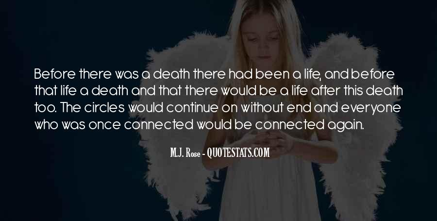 Quotes About Life Goes On After Death #71593