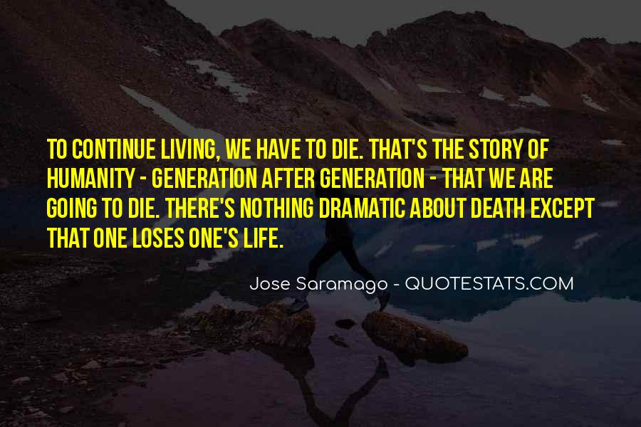 Quotes About Life Goes On After Death #83166