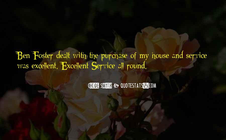 Quotes About Excellent Service #118082