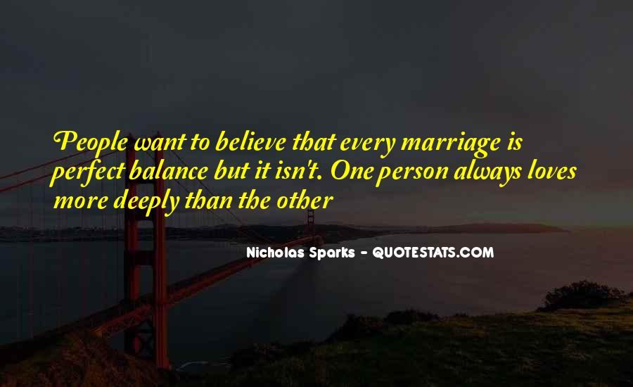 Quotes About Marriage Nicholas Sparks #1236979