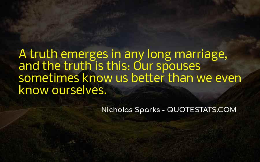Quotes About Marriage Nicholas Sparks #229389