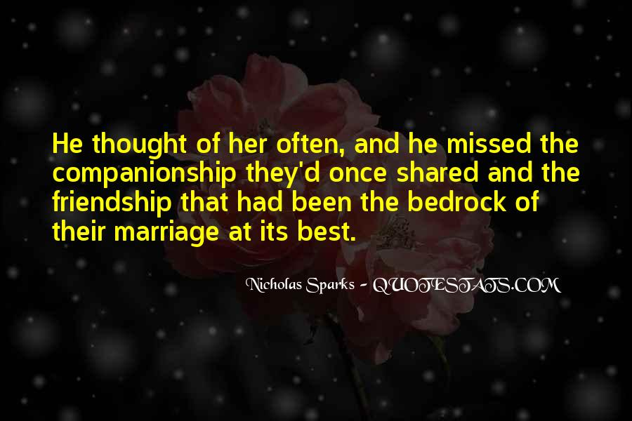 Quotes About Marriage Nicholas Sparks #323089