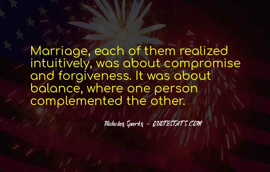 Quotes About Marriage Nicholas Sparks #892199
