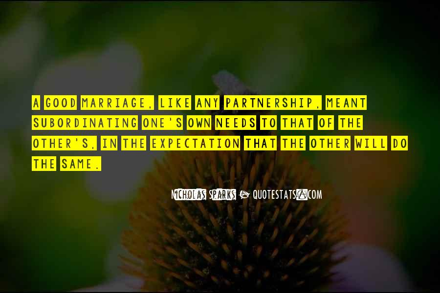 Quotes About Marriage Nicholas Sparks #929417