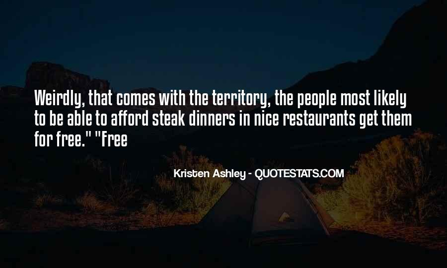 Quotes About Steak #133565
