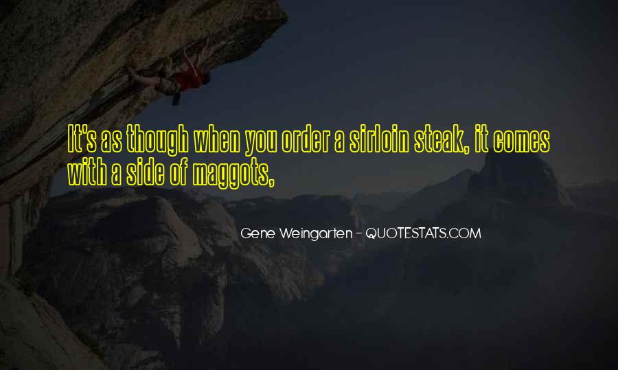 Quotes About Steak #158048