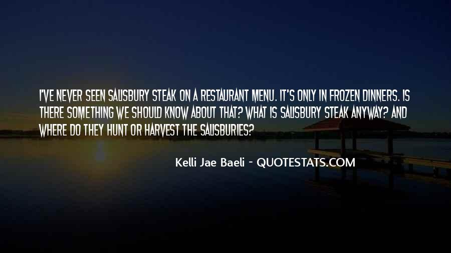 Quotes About Steak #318697