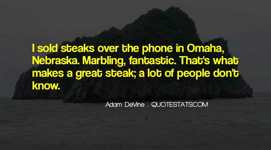 Quotes About Steak #388930