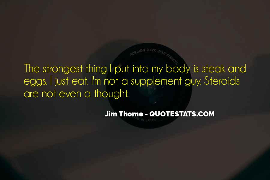 Quotes About Steak #461332