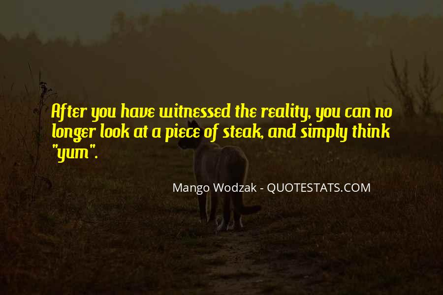 Quotes About Steak #534530