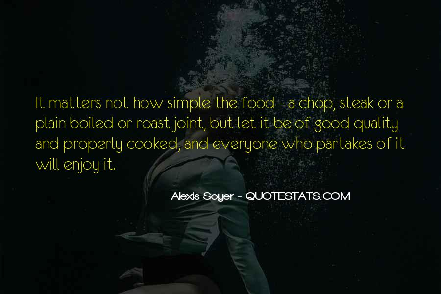 Quotes About Steak #625824
