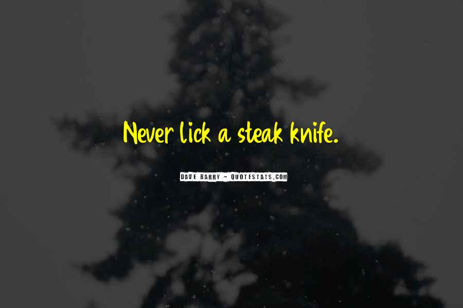 Quotes About Steak #8390